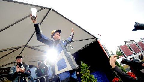 BLE KONGE: Knut Jørgen Brodahl fra Fana ble Skytterkonge i Elverum i 2010 med 349 poeng - det var da tangering av rekorden fra LS.