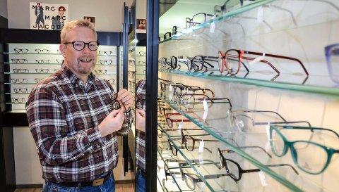 SATSER I LØTEN: Carisma Optikk skal åpne butikk nummer fem. Det bekrefter daglig leder og medeier Robert Verngård.