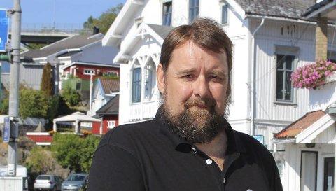 Jørn Thowsen i Brevik Fergeselskap IKS driver sommerrute for fergene.