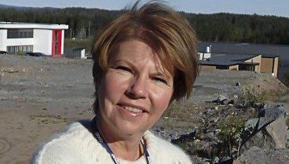 FORNØYD: Anne Berg Behring er fornøyd med å få nye naboer.