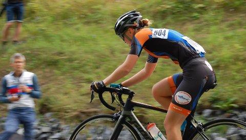 Maren Cecilie Mustad er dobbelt UM-vinner på sykkel.