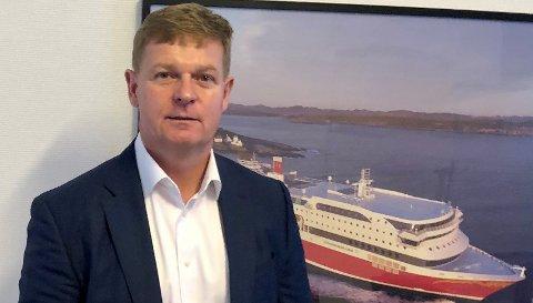 RUTA ER KLAR: – Vi håper og tror på en flott sommersesong i 2021, og vi gleder oss virkelig til igjen å få seile inn og ut fra vakre Langesund, sier konsernsjef Brian Thorsted Hansen i Fjord Line. Hvis myndighetene tillater det, og letter på reiserestriksjonene, blir det rute til Langesund igjen fra mai.
