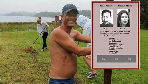 BRÅK: Det ble skikkelig rabalder da Parrinjo dro en nokså frisk sammenligning mellom Pol Pot og MDG-Lan.