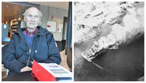 Major Inge Bildøy i Sandnessjøen skal sammen med Tjøtta Historielag markere at det er 75 år siden Rigel ble senket.