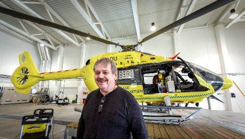 – Vi er kjent med at det nye redningshelikopteret ikke kan lande på helikopterlandingsplassene ved sykehusene på Helgeland. områdesjef for AMK og Luftambulansen i Helgelandssykehuset, Arne Finseth.