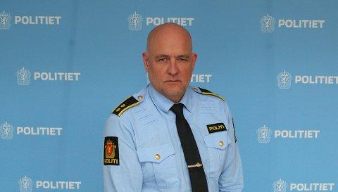 Stabssjef Pål Erik Teigen ved Innlandet politidistrikt.