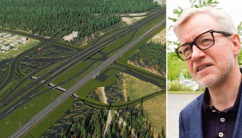FØRSTE MØTE: Kommunedirektør i Hole, Torger Ødegaard, har hatt et første møte med Nye Veier. Han frykter at prosessen blir krevende.
