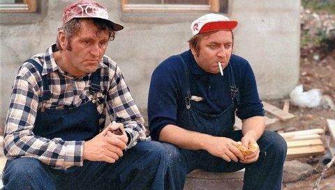 Originalen: Filmkomedien «Norske byggeklosser» fra 1972 tar for seg all problematikk forbundet med husbygging og byråkrati. Den aktuelle filminnspillingen av oppfølgeren handler også om husbygging. Foto: Scanpix
