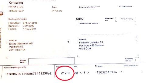 Her er min verste, skriver Tore Elstad på Facebook. Fra slutten av mai til slutten av juni var bompengefakturaen for en av han biler på over 21.000 kroner.