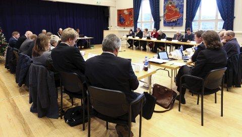 Diskusjon: Kommunestyret i Sande diskuterte om kommunen skulle sende inn klage på Fylkesmannens vedtak om å trekke alle garantier for SBI sitt prosjekt. Arkivfoto