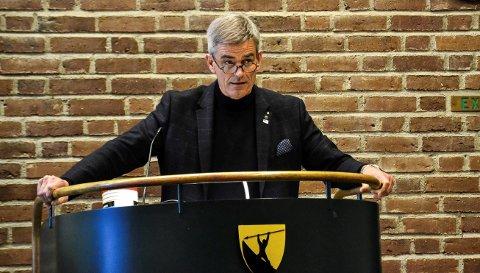 SAKSØKT: Ordfører Bjørn Ole Gleditsch (H) er én av de som blir saksøkt av Varslerhuset. Arkivfoto.