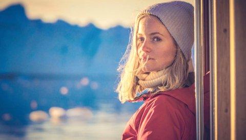 Mari Fjalstad Jensen studerer isen på Grønland for å forstå klimahistorien og fremtidens klima.