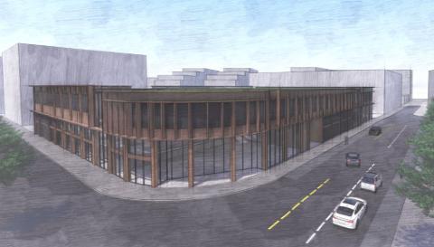 Parkeringshuset i Havneparken er satt på vent, men nå kommer det overflateplasser i samme område.