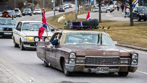 Det ligger an til å bli mye trafikk på grenseovergangene i påska, spesielt skjærtorsdag, når flere tusen nordmenn inntar Strømstad.