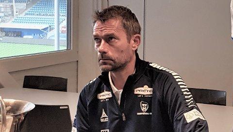 Andre Bergdølmo er juniortrener i Sarpsborg 08.