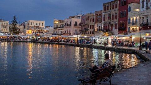 Sentral beliggenhet er fortsatt viktigst for nordmenn på ferie i utlandet. Her fra Chania på Kreta. Foto: Halvard Alvik, NTB scanpix/ANB