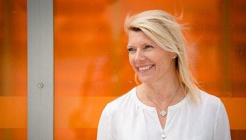 FØRSTE BANK UT: DNB med den ferske Kjerstin Braathen i spissen setter som første bank opp boliglånsrenten. Foto: Stig B. Fiksdal (DNB)
