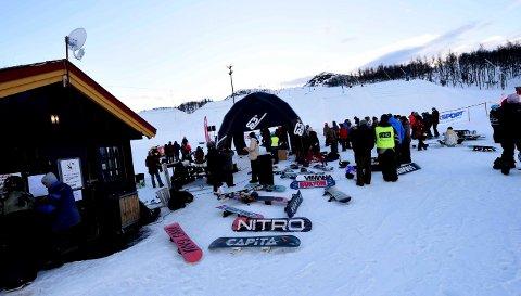 STOPPET: KIF får ikke arrangert noen norgescup i slopestyle på Vierli denne vinteren.