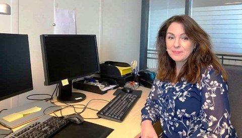 GREIT: - Det er enkelt å sjekke eiendomsskatten selv, mener Emilie Schäffer.