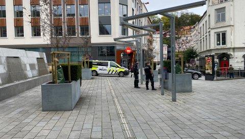 SLO ALARM: Seinest tirsdag pågrep politiet en mann for trusler mot Nav-ansatt.