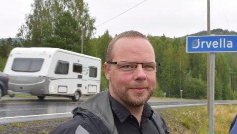 KNUTEPUNKT: Hjartdal kommune og ordfører Bengt Halvard Odden vil se på mulighetene for å legge kloakkledning fra Sauland til Nordbygda som alternativ til å bygge nytt renseanlegg for Sauland. Med kloakkløsning vil Ørvella kunne utvikles til et attraktivt næringsområde.
