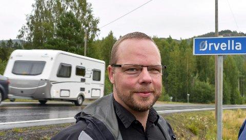 POSITIV: Ordfører Bengt Halvard Odden ønsker at det tas kontakt med Notodden kommune, for å sammen med Hjartdal kommune vurdere om det kan være  hensiktsmessig å legge til rette for ny næring i Ørvella-området.