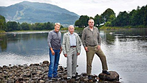 Kjell Ulf Lund, Ola L. Tellesbø, Jan Sundqvisti Fiskeraksjonen for Surnavassdraget.
