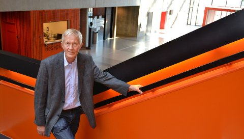 SJEF: – Siden mange faktisk har studieforberedende program på førsteplass, hensyntar vi det, sier Øyvind Sørensen, utdanningsdirektør i Vestfold fylkeskommune. Her er han avbildet på Thor Heyerdahl videregående skole i Larvik i 2011.