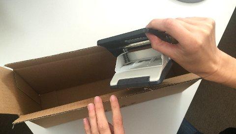 LURTE FLERE: Vestfold-mannen solgte mobiltelefoner på nettet, men sendte tre kjøpere hullemaskiner i stedet, fordi det passet bra med vekt og størrelse. (Illustrasjonsfoto)