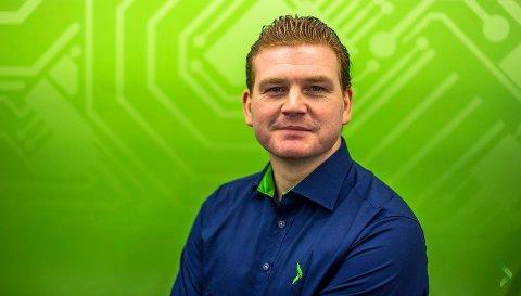 Øystein Schmidt, kommunikasjonssjef i Elkjøp.