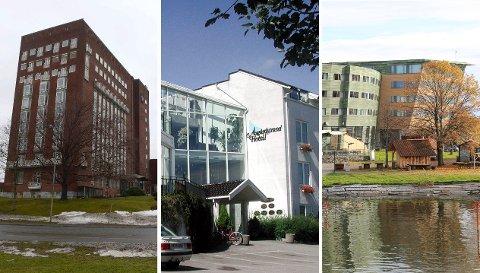 PALLPLASSERING: Kun Finnmark og Sogn og Fjordane opplever større vekst i hotellnæringen enn i Vestfold