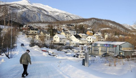 Lave priser: Boligfeltet Korea er blant områdene i Kjøpsvik der prisene for eldre bolighus er svært lave. Foto: Øyvind A. Olsen
