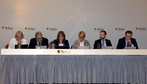 Fylkesrådet, fylkestinget, Mona Fagerås, Knut Petter Torgersen, Ingelin Noresjø, Hild-Marit Olsen, Willfred Nordlund, Tomas Norvoll