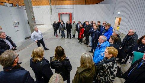 Rana kommune, Brus Bodøregionens Utviklingsselskap på besøk i Luleå og Luleå næringsliv. SICS north ved Tor Björn Minde. Testsenter for datasenter.