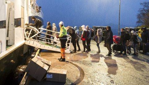 Kanselleringer: Første mars overtok selskapet Boreal to av Nordlandsekspressens hurtigbåtruter fra Torghatten Nord, men starten har ikke vært helt problemfri for selskapet. Bildet er tatt i en annen sammenheng.