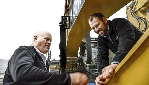 HENTER KAPITAL: Albert og Lars Hæhre skyter gjennom Knarten Holding AS, inn penger i Hæhre & Isachsen Gruppen.