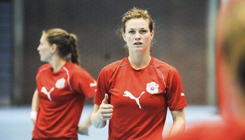 TIL VIPERS: Jeanett Kristiansen hadde flere profftilbud på bordet og skal ha bestemt seg for Vipers Kristiansand.