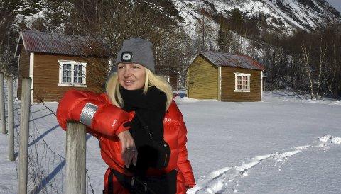 VENDER SNUTA: Lillian Molstad-Andresen flytter sammen med samboeren Rune Waitz fra Drammen til Steigen i Nordland. Hun ønsker å utvikle et helt unikt konsept der oppe.