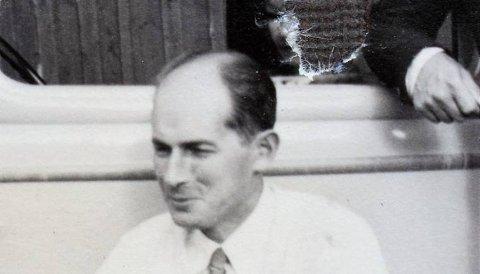 Christian Hellesen etter at han hadde skiftet etternavn til Preuthun og var dømt i landssvikoppgjøret etter krigen.