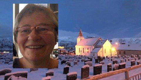 Liv Øyen Strind gleder seg til å komme til Honningsvåg og jobbe i Nordkapp Menighet.