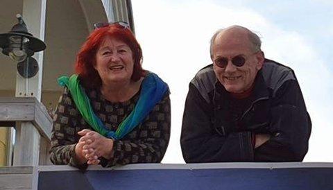Eva Schmutterer og Jurgen Noack åpner Galleriet i Honningsvåg på lørdag.
