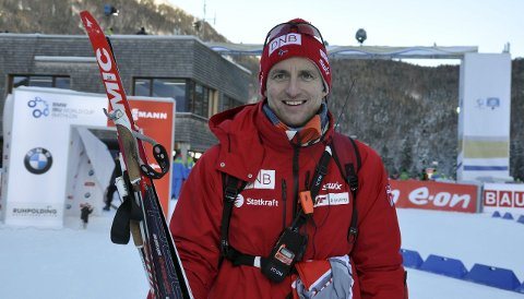 GIR SEG: Morten Aa. Djupvik trekker seg som sjef for skiskyttarane.