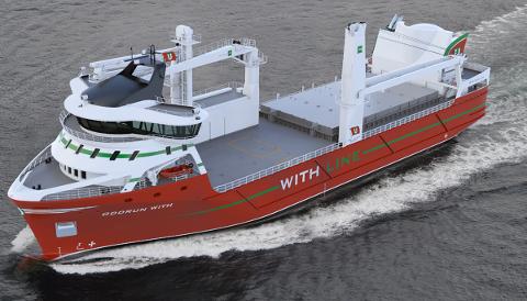 86 METER: «Oddrun With» er konstruert i Førde og skal byggast i Tyrkia. Om bord er ny, grøn teknologi i verdsklasse, skriv Skipsrevyen.