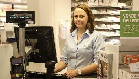 Leder: Heidi Skjønhaug Reinertsen (31) får daglig spørsmål om «hvor han sjefen er». Det de ikke vet, er at det er hun som styrer skuta. foto: Kristin Engløkken mainitz