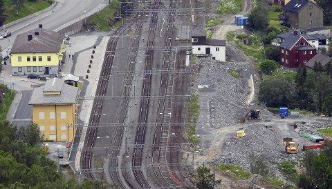VENTER: Planene for Narvik stasjon  er klare på detaljnivå. Men pengene har latt vente på seg.