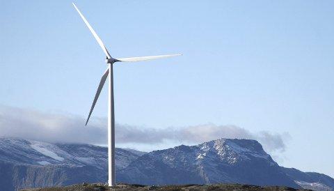 Vil se flere slike: Fellesnemnda for nye Narvik kommune er positiv til ny vindkraft som kan kobles opp mot lokal industri og næringsliv og krever at slike prosjekter må behandles uavhengig av nasjonal ramme for vindkraft. Foto: Fritz Hansen