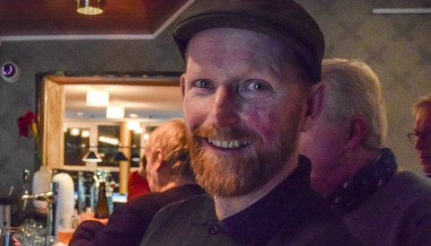 """FORNYBAR: Terje Simonsen og """"hans"""" Ra Energi AS, som driftes fra Åsgårdstrand, satser på grønn fornybar energi."""