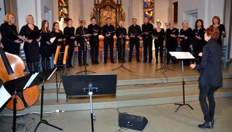 KORET: Borre Vocale er her snart igjen, med tradisjonsrik julekonsert i Borre kirke.