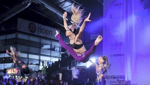 FREMADSTORMENDE: Maren Fonstad er igjen klar for EM i dansing. Her fra fjorårets EM i disko.