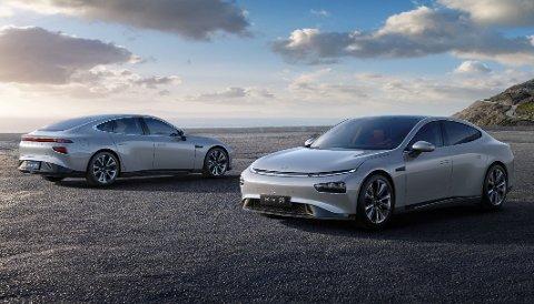 TESLA-LIGNENDE: Xpeng kommer snart til Norge sin P7, en stor Tesla-lignende sedan.